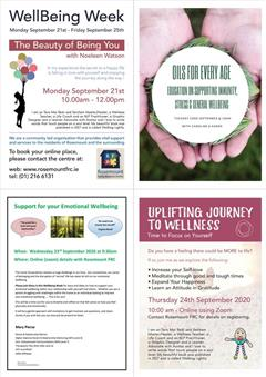 Wellbeing Events for Parents/Guardians