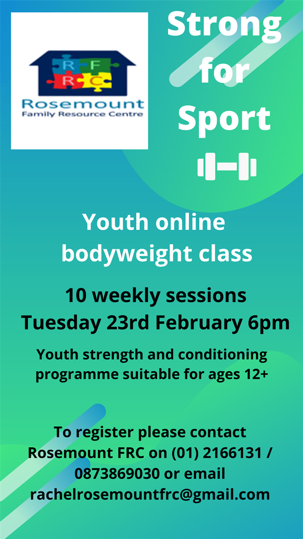 Weekly Teen Strength & Conditioning Course